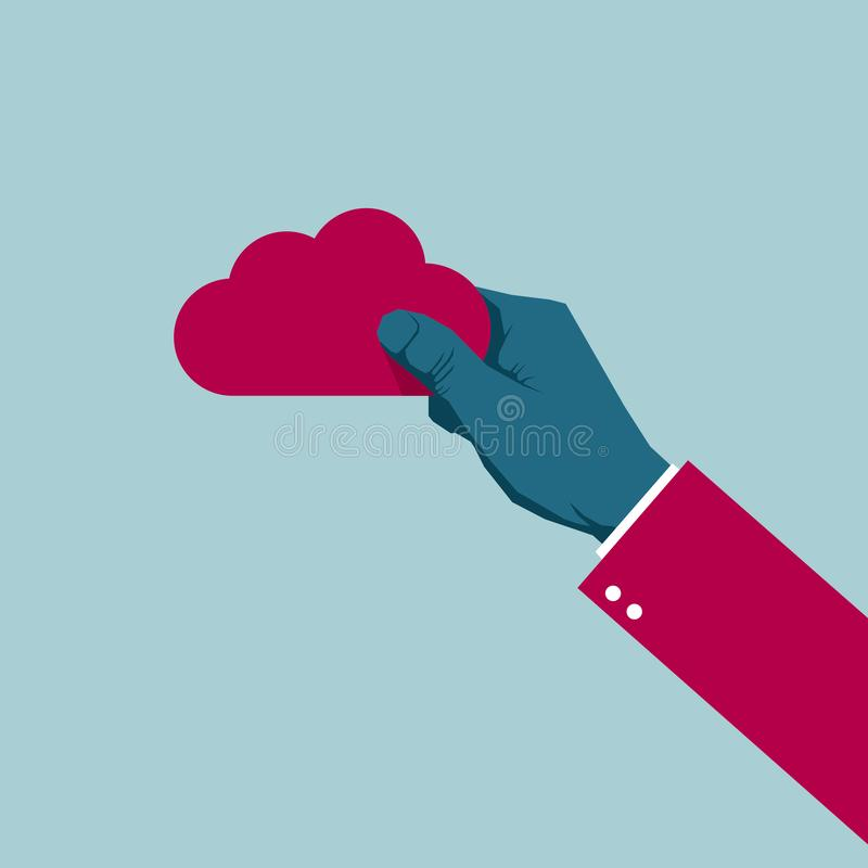 Free Cloud Computing Icon Design. Stock Images - 159653834