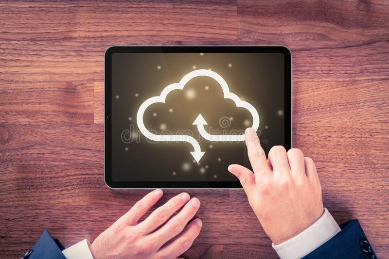 Cloud Computing-koncept royaltyfria foton