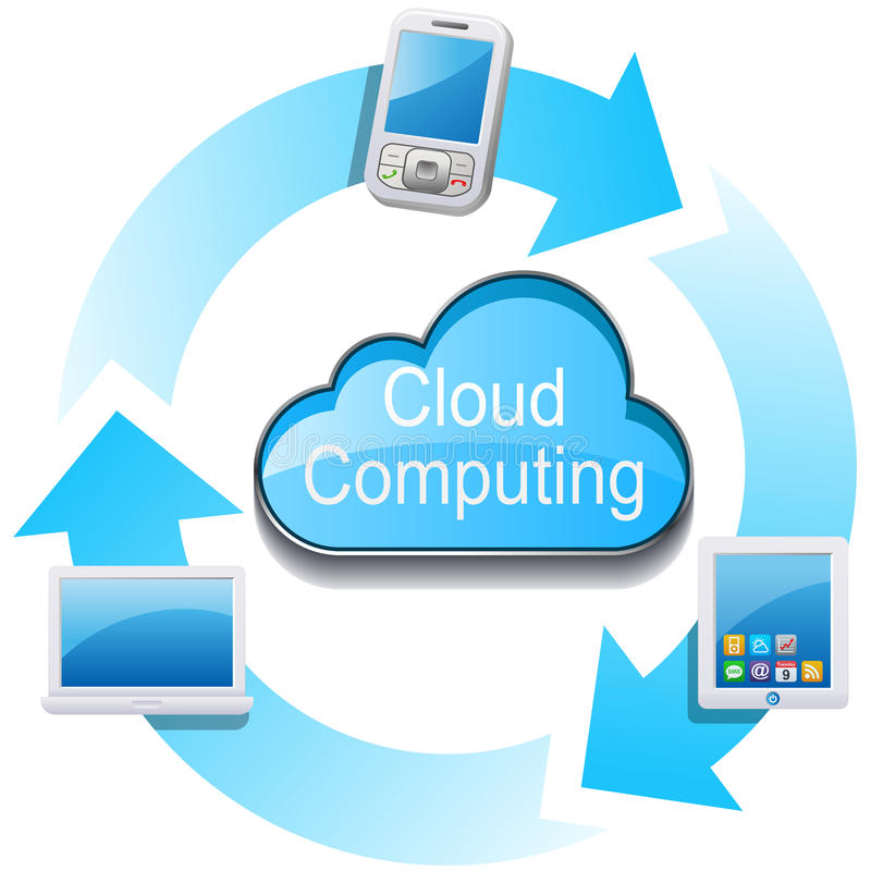 Download Cloud Computing Network Royalty Free Stock Image - Image: 20986776