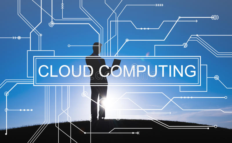 Cloud Computing Online Technology Circuit Board Concept Stock Photo ...