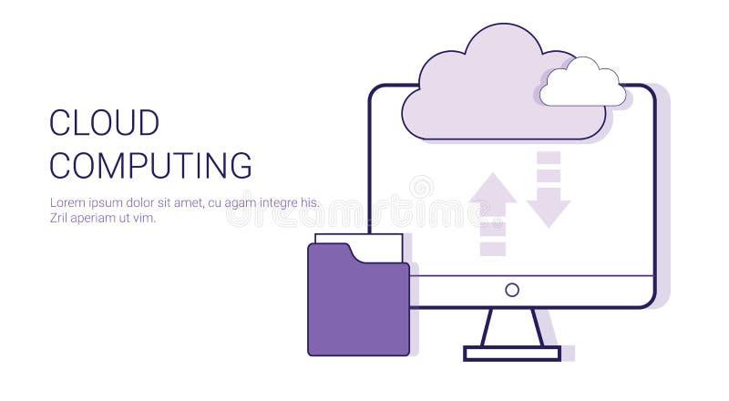 Cloud Computing Service Online Database Business Concept Template ...