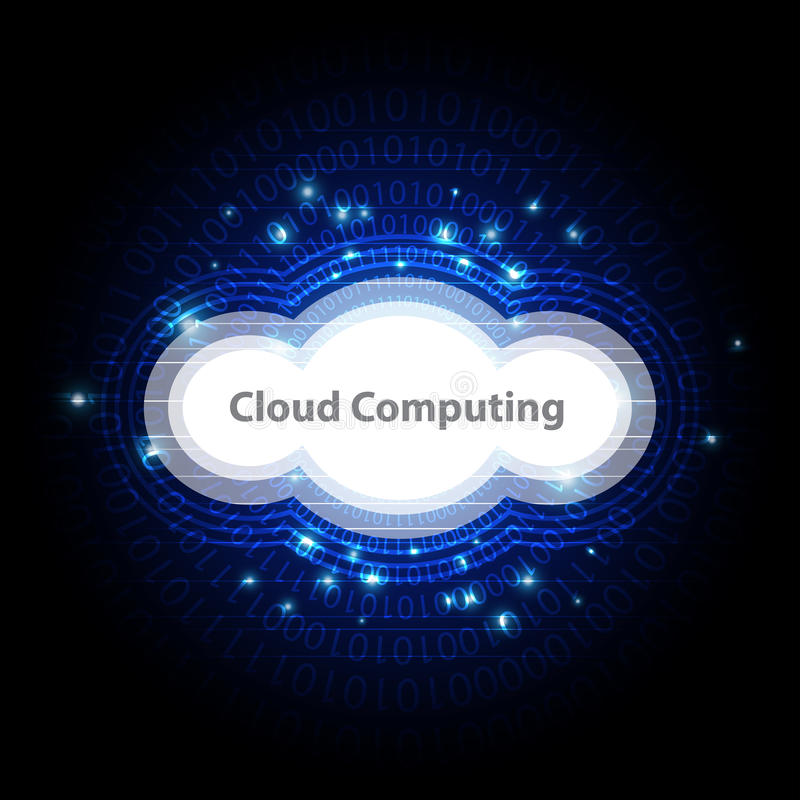 Download Cloud Computing Technology Background Stock Vector - Illustration: 32264602