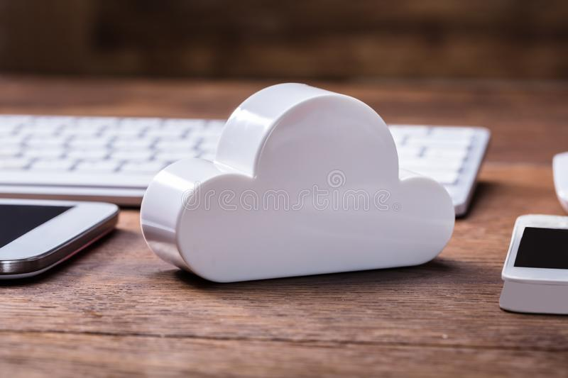 Cloud Computing Technology Concept royalty free stock image