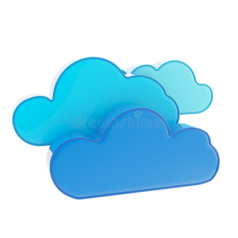 Download Cloud Computing Technology Icon Stock Illustration - Image: 24683151