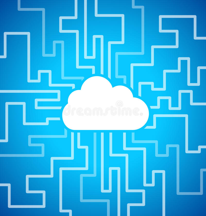 Download Cloud computing theme stock vector. Illustration of climate - 29781015