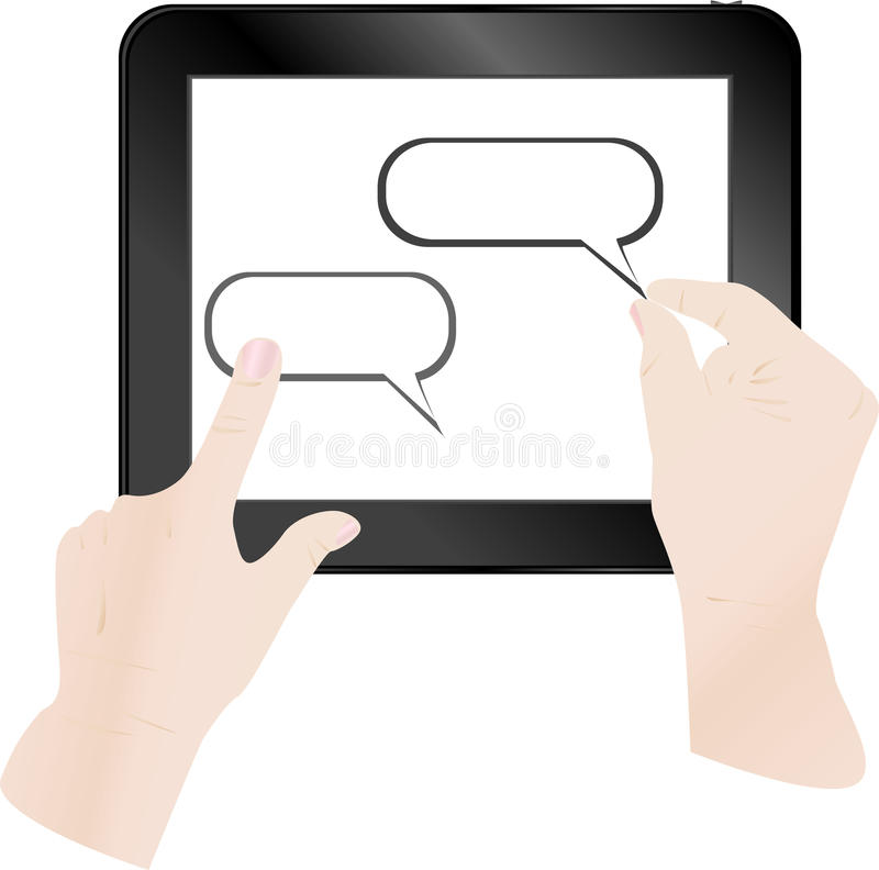 Download Cloud Computing And Touch Pad Concept Royalty Free Stock Photo - Image: 24444725