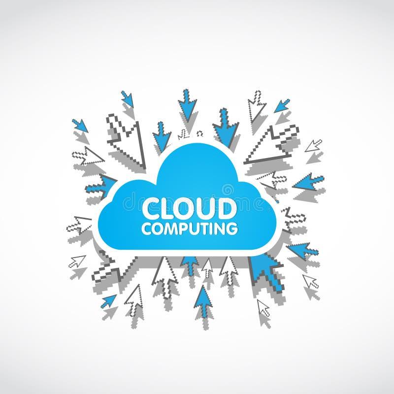 Cloud Computing Web Concept Stock Image