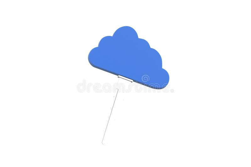 Cloud computing vector illustration