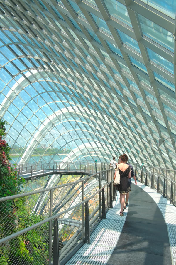 Download Cloud Forest, Gardens By The Bay Editorial Stock Photo - Image: 26144903