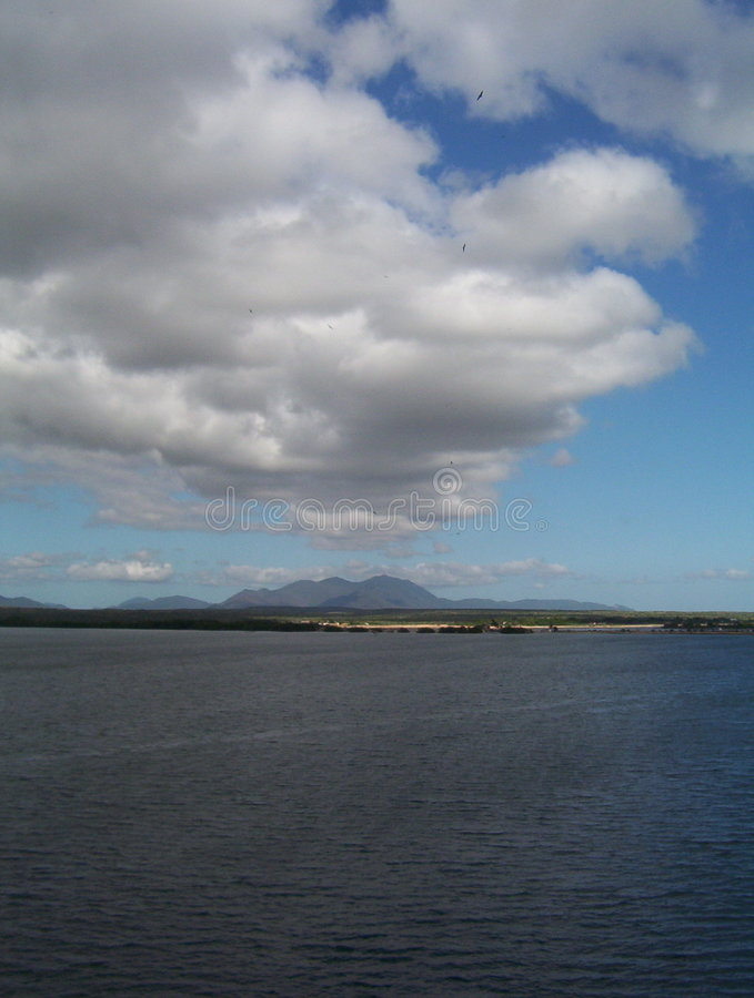 Download Cloud Funnel to Venezuela stock image. Image of water, land - 86549