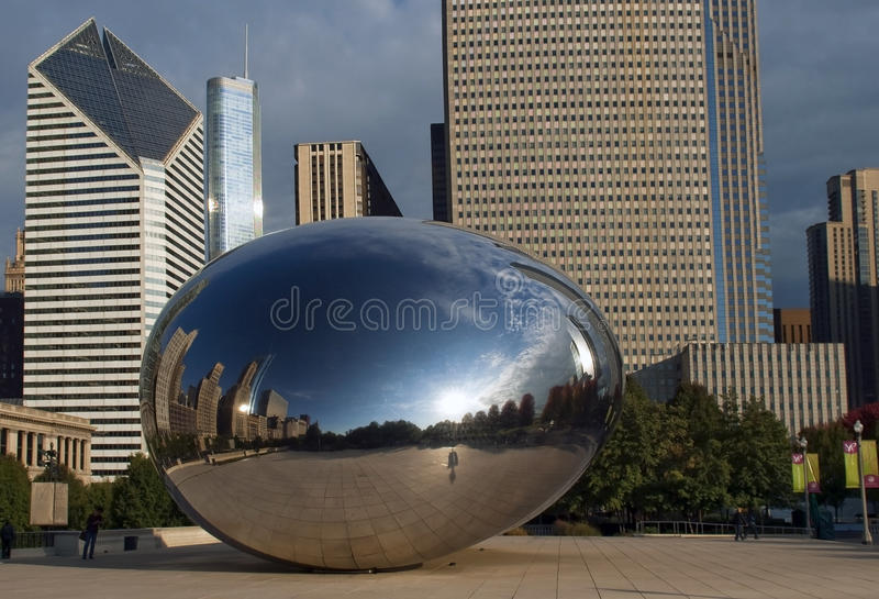 Download Cloud Gate  In Chicago, Illinois Editorial Image - Image: 22788005