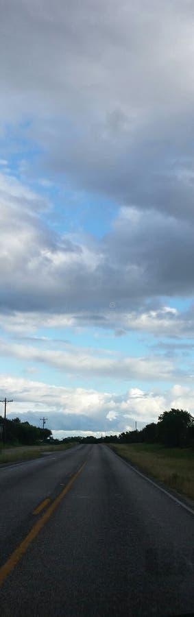 Cloud Gazing stock image