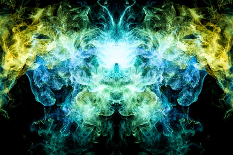 Background from the smoke of vape. royalty free stock image