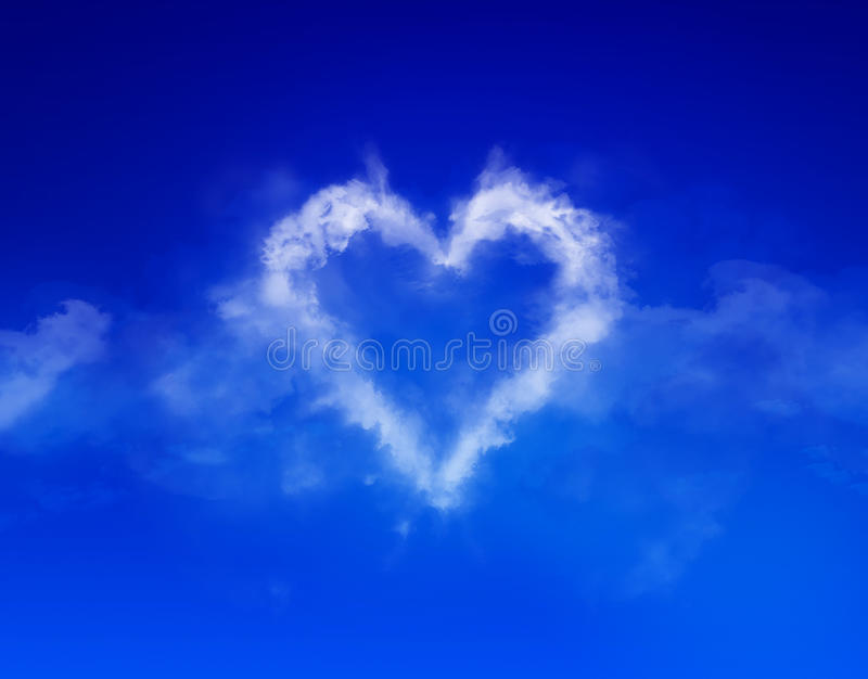 Download Cloud heart stock photo. Image of clarity, love, space - 39272514