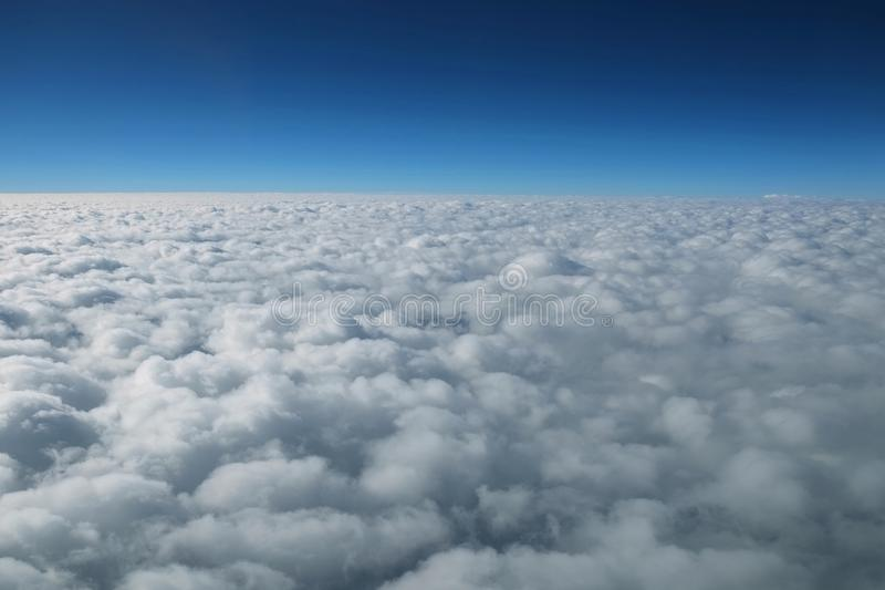 Cloud and horizon stock images
