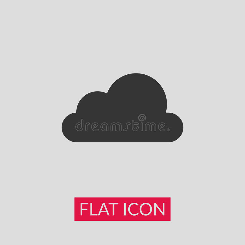 Cloud icon royalty free illustration