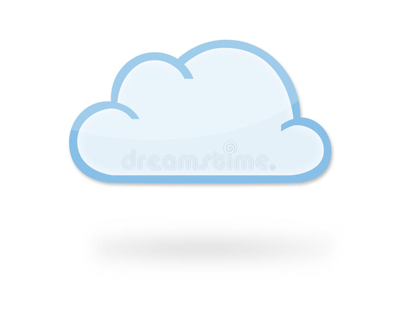 Cloud Icon stock illustration