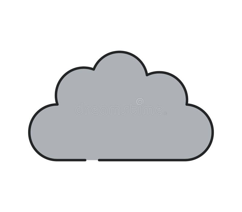Cloud icon stock photos