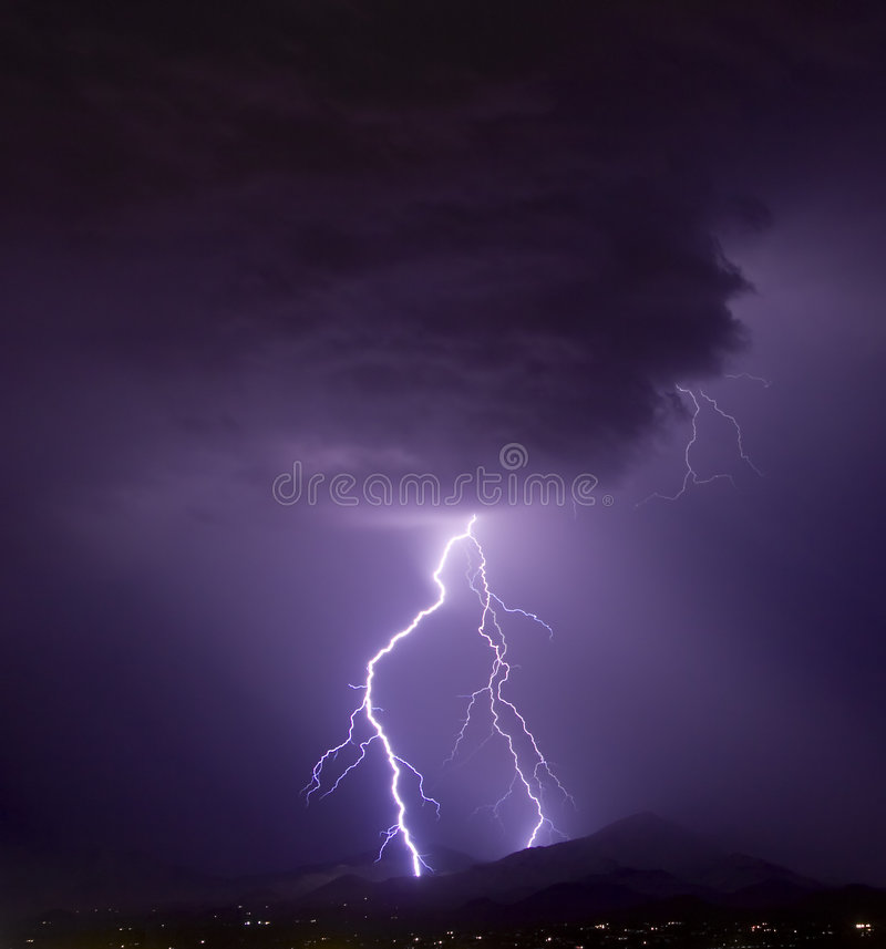 Download Cloud and Lightning stock photo. Image of bolt, rainstorm - 334158