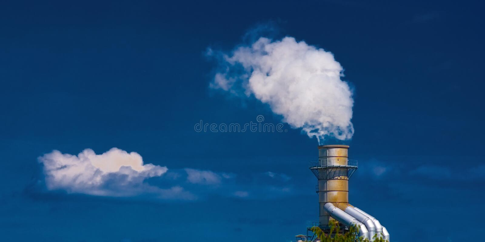 Download Cloud machine stock image. Image of chimney, factory - 19404505