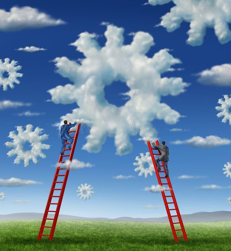 Cloud Management stock illustration