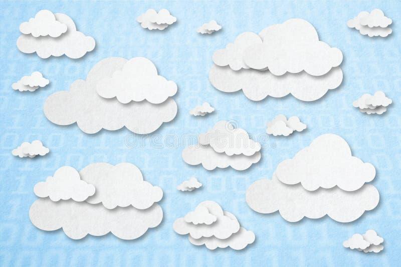 cloud meddelande resurser f?r begreppet f?r datoren ber?knande lokaliserade b?rbar dator royaltyfri illustrationer