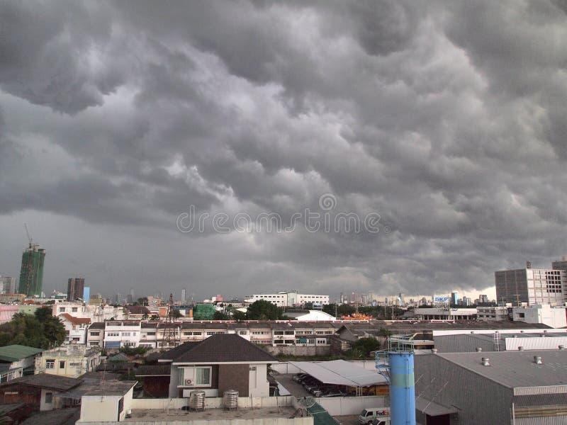 cloud miasta zdjęcia stock
