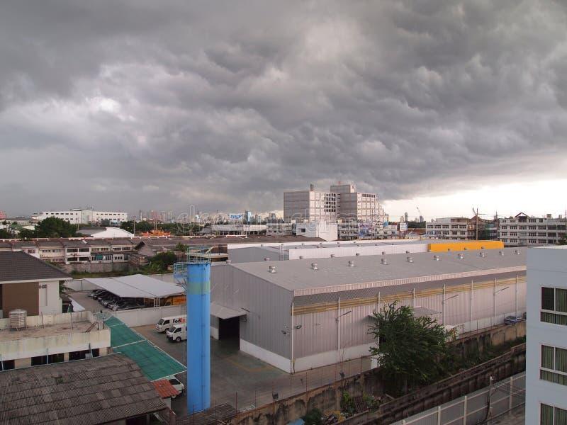 cloud miasta obrazy stock