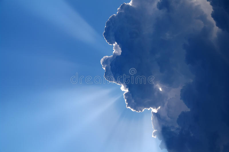 CLOUD MONSTER royalty free stock photo