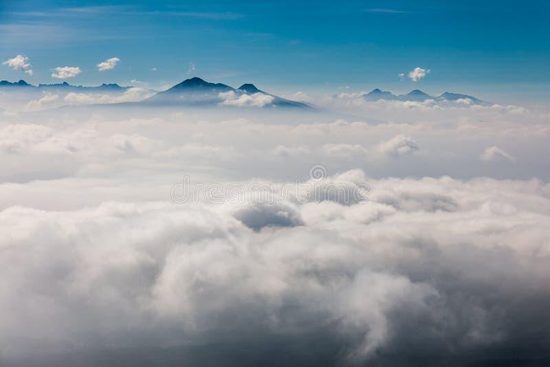 cloud morza fotografia stock