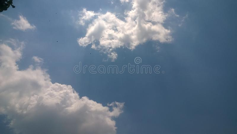 This is cloud in my city sragen indonesia. 5 november royalty free stock photography
