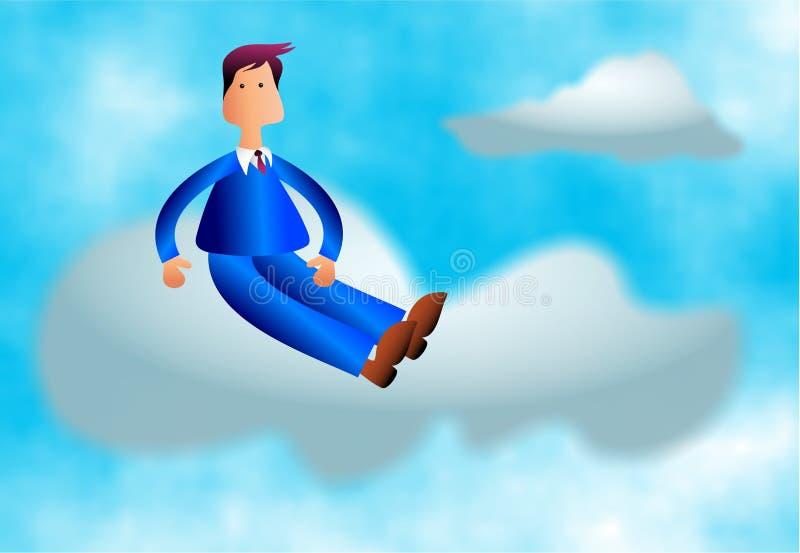 Cloud Nine stock illustration