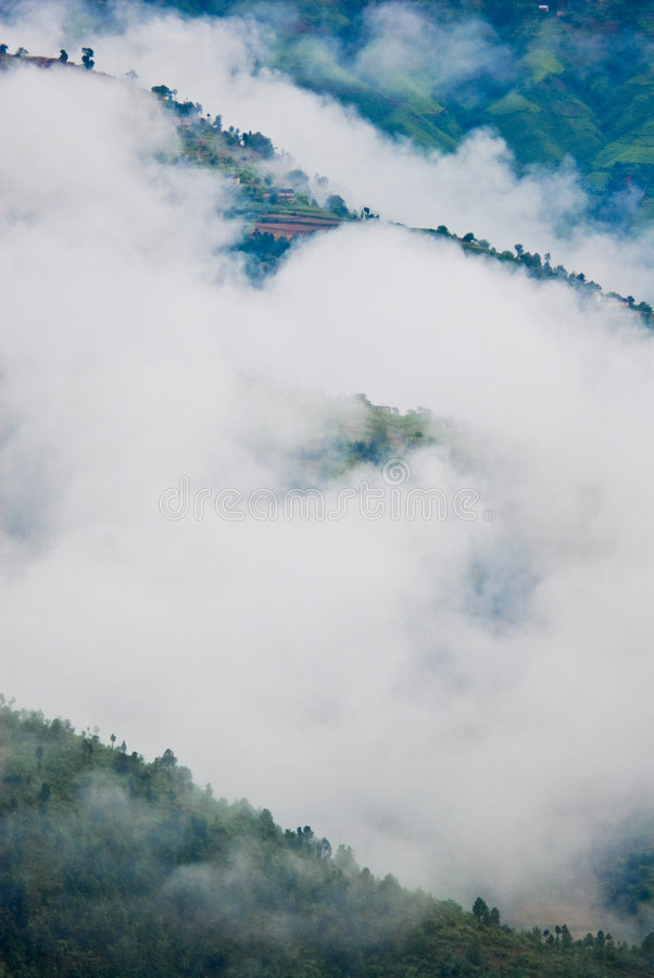 Free Cloud Obscuring Hillside Stock Image - 7816151