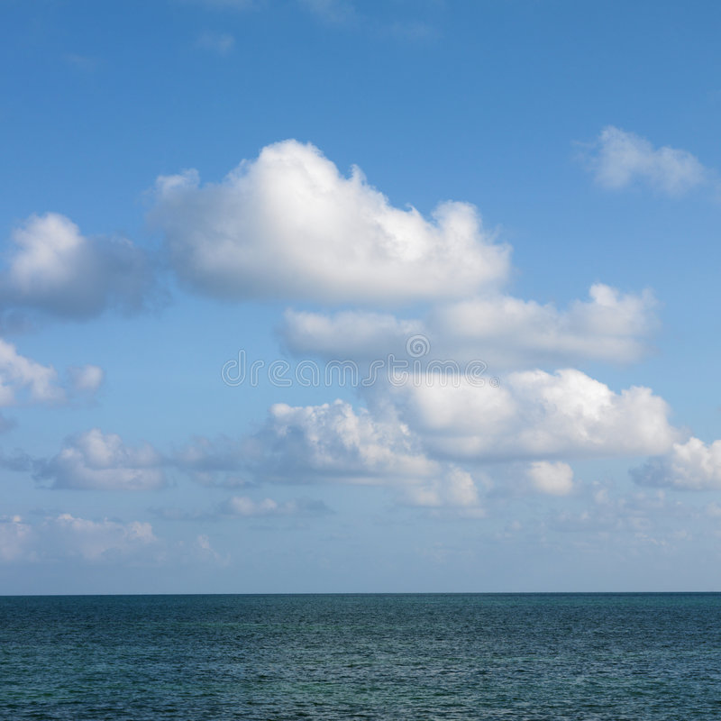 cloud oceanu obraz stock