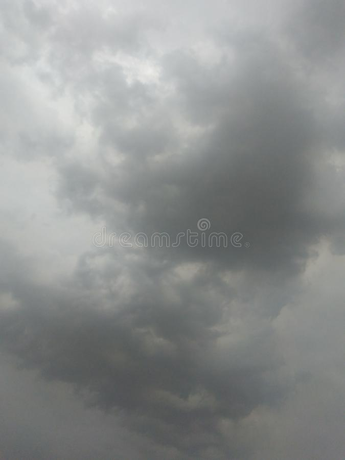 Cloud rain comes royalty free stock images