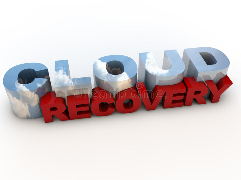 Cloud Recovery stock illustration
