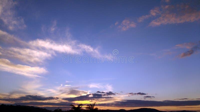 cloud słońca zdjęcie stock