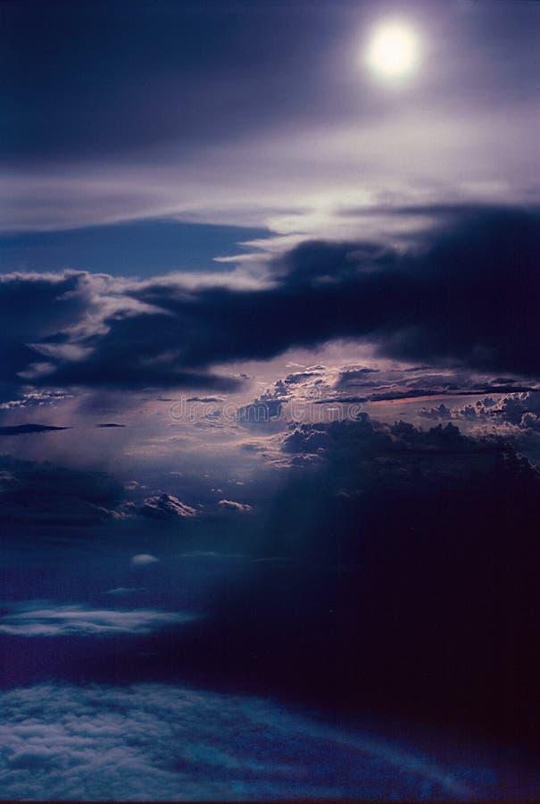 cloud słońce obrazy stock