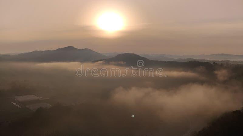 cloud sea stock image