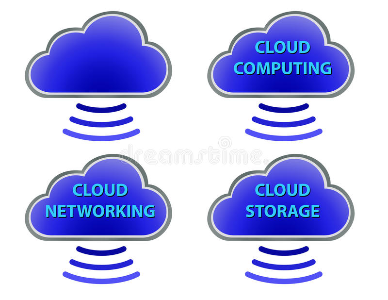 Download Cloud Set stock vector. Illustration of communication - 31489991