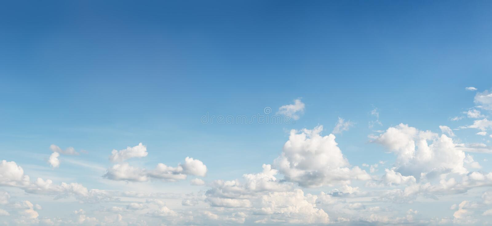 Cloud shape on sky. Motion blur cloud shape on blue sky for background material stock images