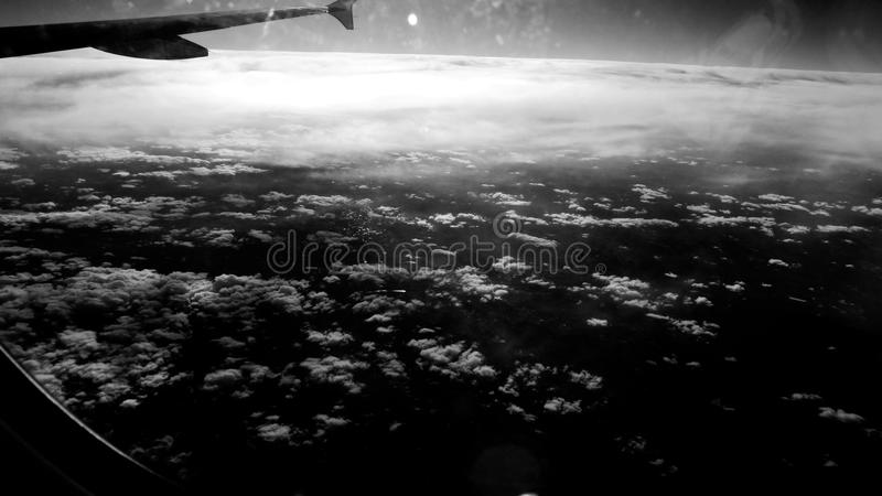 The cloud of the sky royalty free stock photos