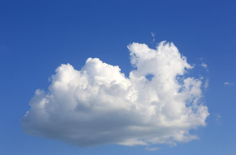 Cloud in sky. Nice white cloud in blue sky stock images