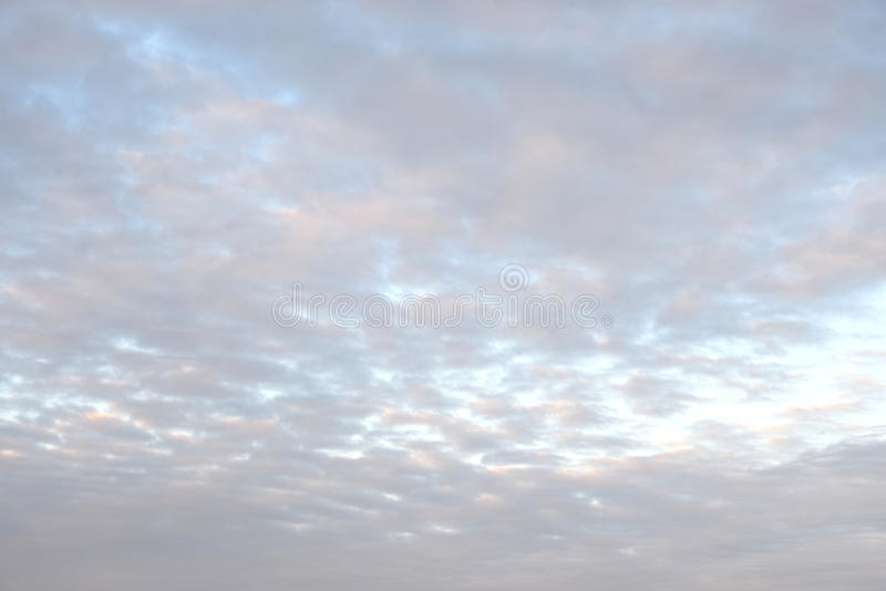Cloud sky at sunset. Cloud sky at sunset, may be used as background royalty free stock images