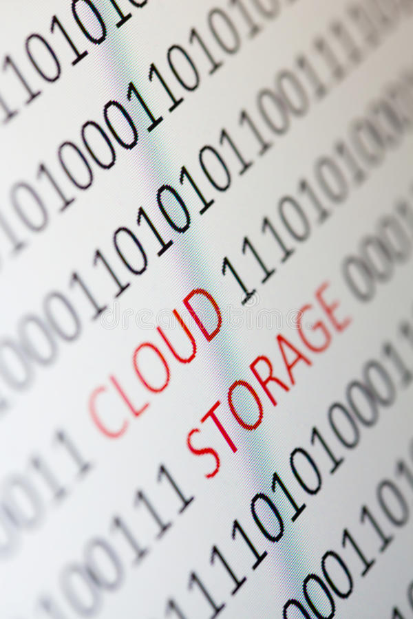 Download Cloud Storage Stock Photography - Image: 28393042