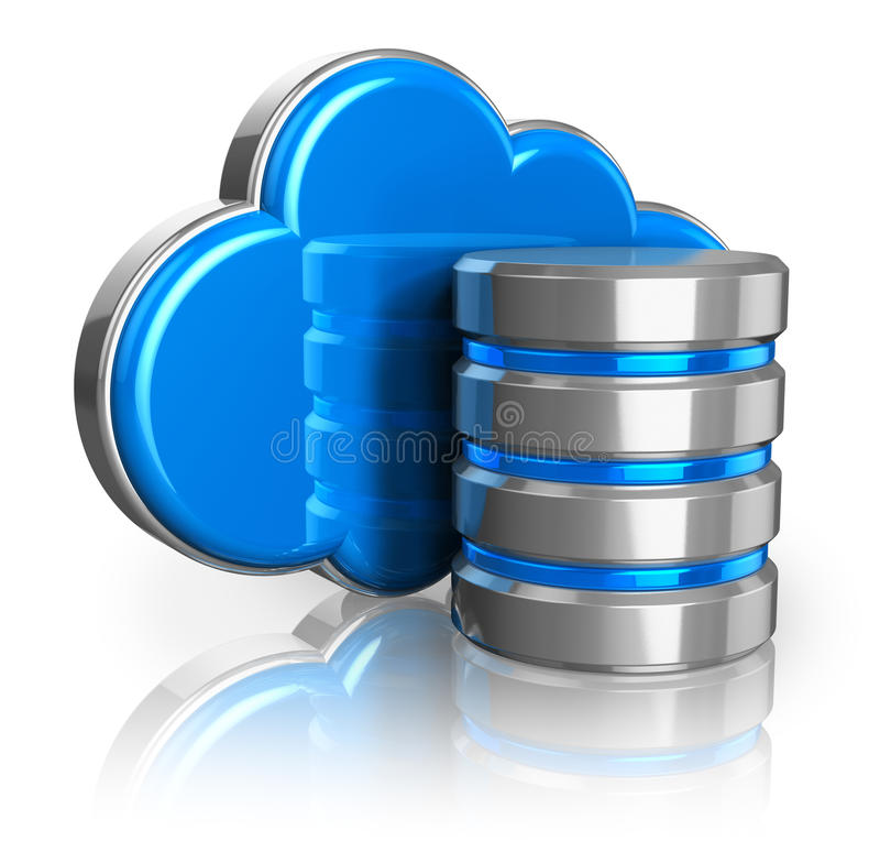 Cloud Storage Concept Stock Photos