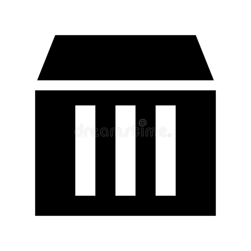 Cloud Storage Hardware Server Icon Or Logo Illustrator Stock