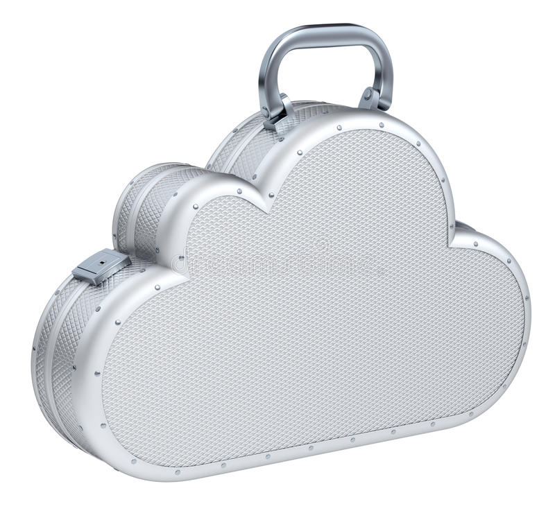 Download Cloud Suitcase Stock Photo - Image: 24902490