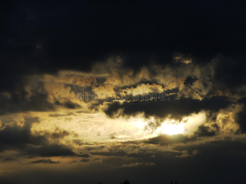 Cloud Twilight Royalty Free Stock Photography