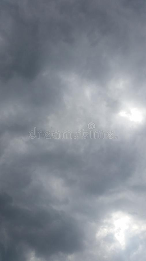 Cloud watching.. stock photography